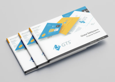 Global TeleSystems brand support and B2B marketing collateral