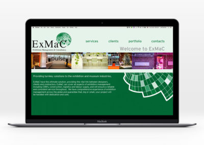 Exmac brand and website