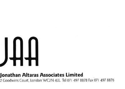 Theatrical agent branding